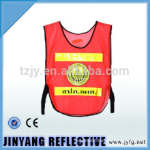 warning reflective safety vest